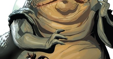 Star Wars Age of Rebellion: Jabba the Hutt #1 cover by Terry and Rachel Dodson