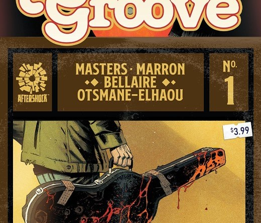 Killer Groove #1 cover by Eoin Marron and Triona Farrell