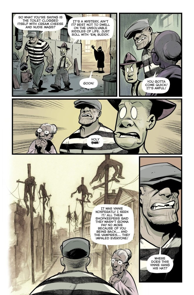 The Goon #2: Great Comedic Horror With Stunning Art – COMICON