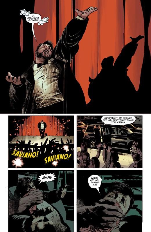 Savage Avengers #1 art by Mike Deodato Jr., Frank Martin, and letterer VC's Travis Lanham