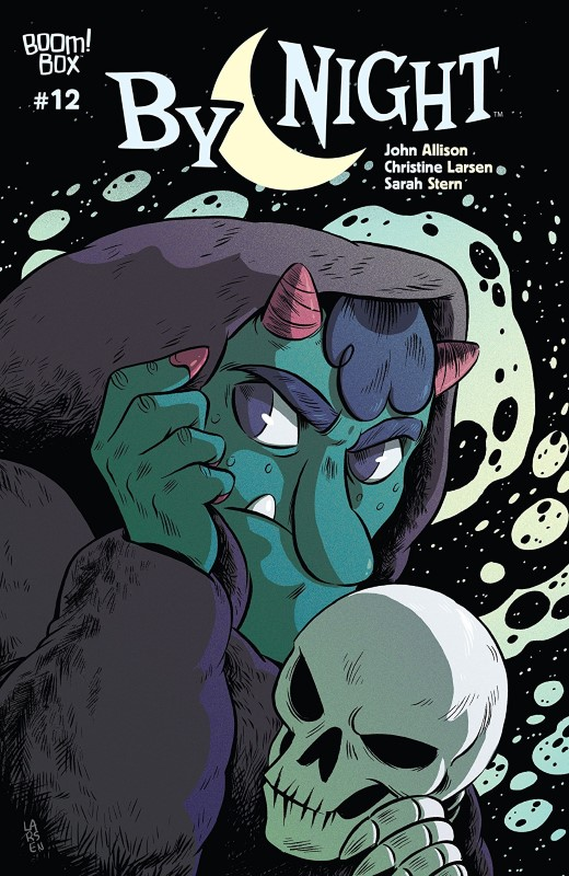 By Night #12 cover by Christine Larsen