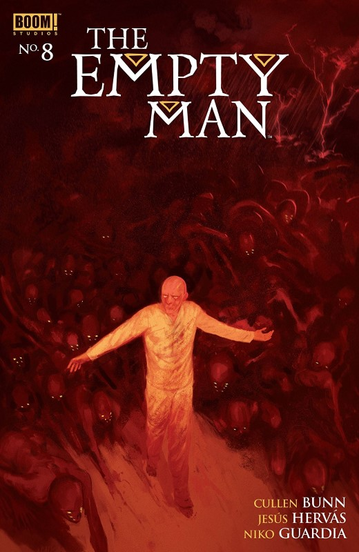 The Empty Man #8 cover by Vanesa R. Del Rey
