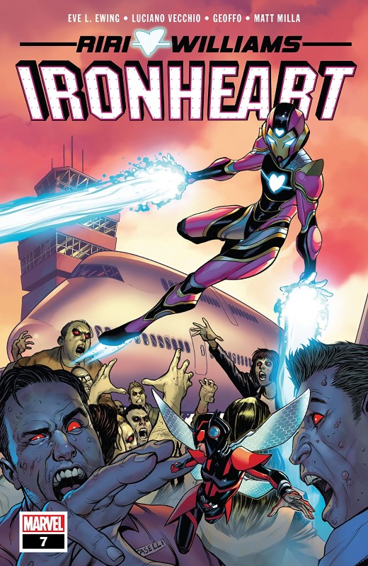 Ironheart #7 cover by Amy Reeder