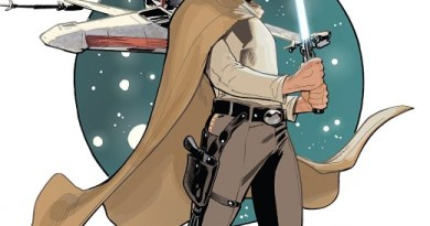 Star Wars Age of Rebellion: Luke Skywalker #1 cover by Terry and Rachel Dodson