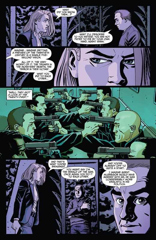 A Walk Through Hell #12 art by Goran Sudžuka, Ive Svorcina, and letterer Rob Steen