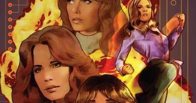 Charlie's Angels vs the Bionic Woman #1 cover by Cat Staggs