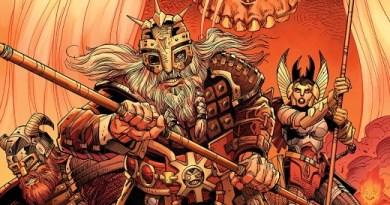 Ragnarok: The Breaking of Helheim #1 cover by Walter Simonson and Laura Martin