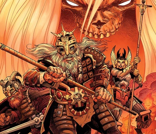 Ragnarok: The Breaking of Helheim #1 cover by Walter Simonson and Laura Martin