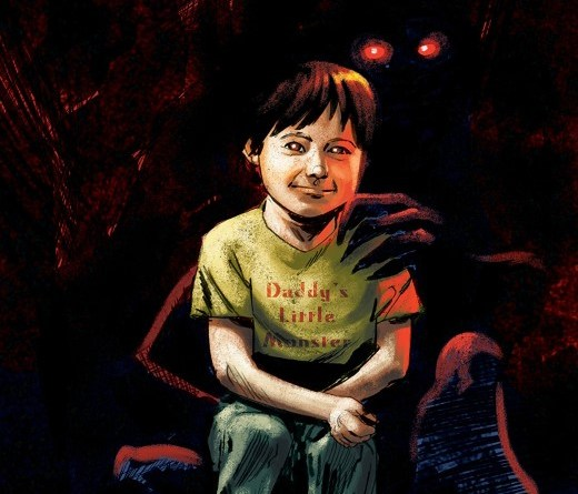 Babyteeth #15 cover by Garry Brown and Mark Englert