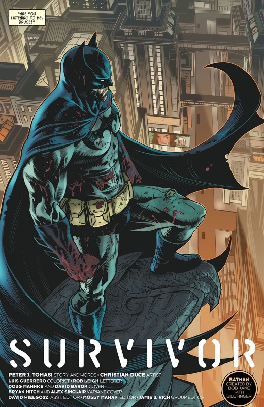Detective Comics #1009 art by Christian Duce, Luis Guerrero, and letterer Rob Leigh