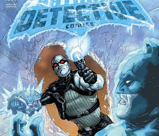 Detective Comics #1009 cover by Doug Mahnke and David Baron