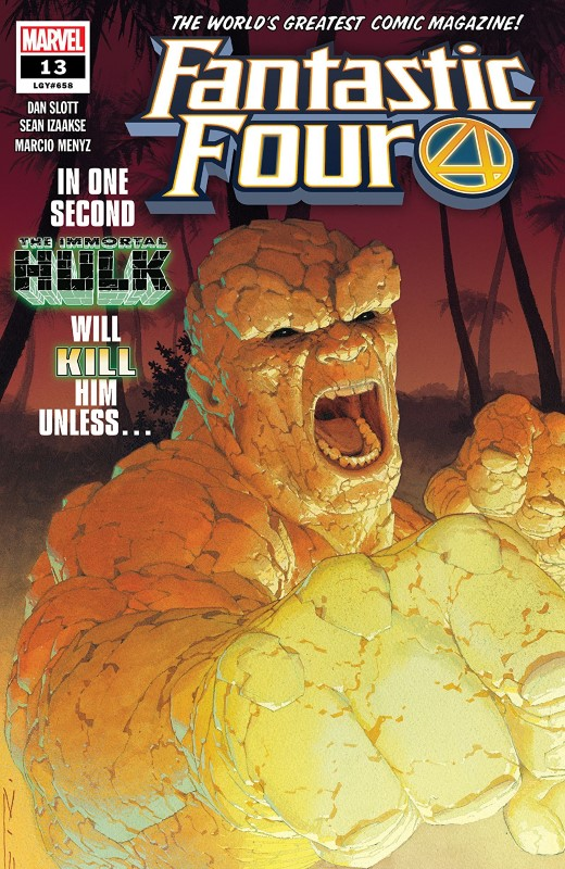 Fantastic Four #13 cover by Esad Ribić