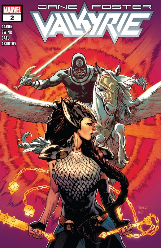 Jane Foster: Valkyrie #2 cover by Mahmud Asrar and Matthew Wilson