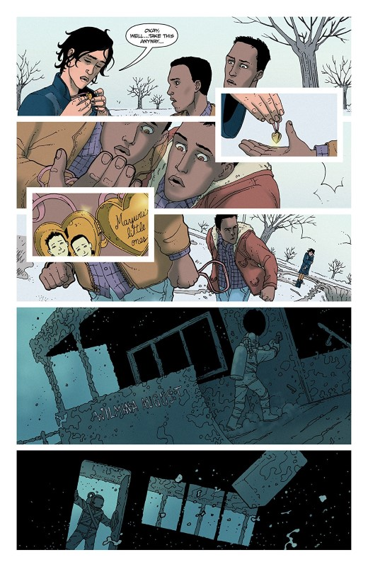 She Could Fly: The Lost Pilot #5 art by Martín Morazzo, Miroslav Mrva, and letterer Clem Robins