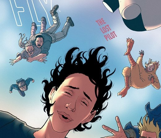 She Could Fly: The Lost Pilot #5 cover by Martín Morazzo