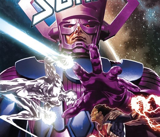 Silver Surfer: The Prodigal Sun #1 cover by Mico Suayan and Rain Beredo