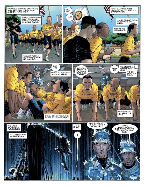 Superman: Year One #2 art by John Romita Jr., Danny Miki, Alex Sinclair, and letterer John Workman