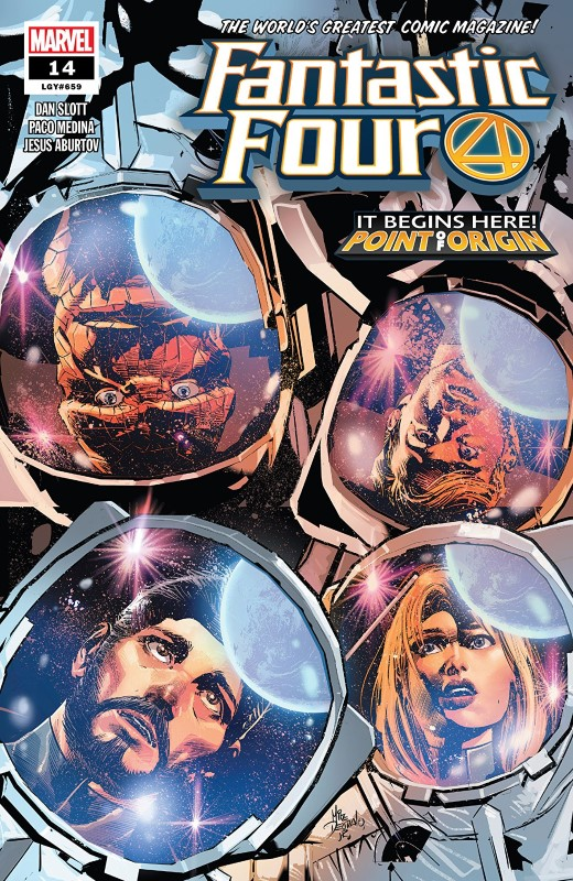 Fantastic Four #14 cover by Mike Deodato Jr. and Romulo Fajardo Jr.
