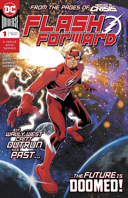 Flash Forward #1 cover by Doc Shaner