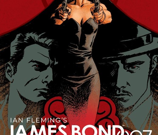 James Bond 007 #11 cover by Dave Johnson