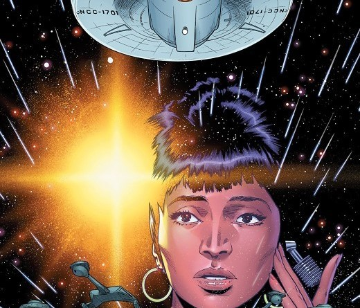 Star Trek: Year Five #6 cover by Stephen Thompson and Charlie Kirchoff