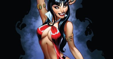 Vampirella #3 cover by J. Scott Campbell