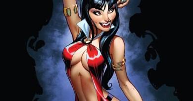 Vampirella #3 cover by J. Scott Campbell