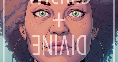 The Wicked + The Divine #45 cover by Jamie McKelvie