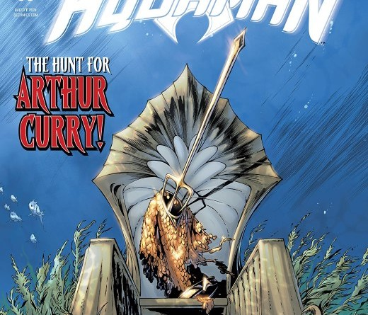 Aquaman #53 cover by Robson Rocha, Jason Paz, and Alex Sinclair