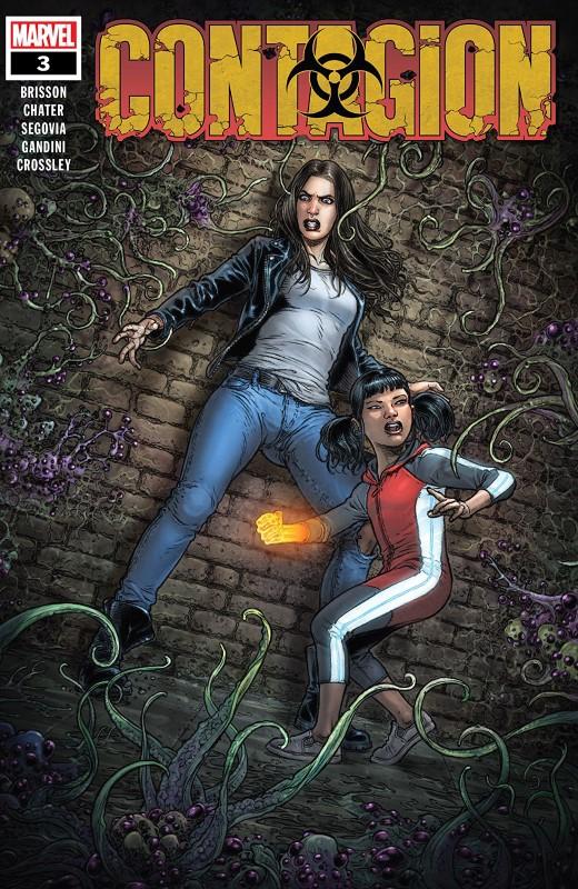 Contagon #3 cover by Juan José Ryp and Jesus Aburtov