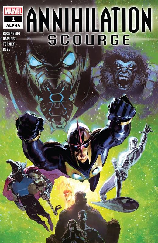 Annihilation: Scourge Alpha #1 cover by Josemaria Casanovas
