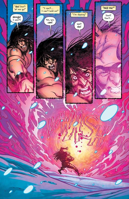 Battlepug #3 art by Mike Norton, Allen Pasalaqua, and letterer Crank!