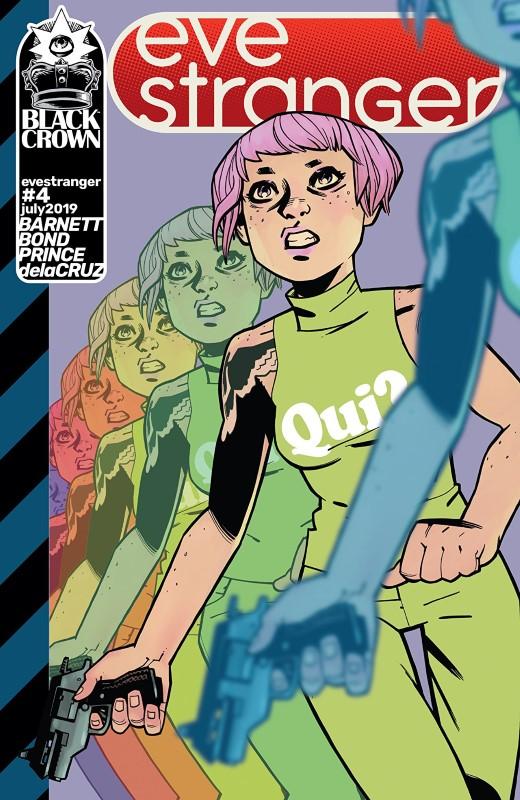 Eve Stranger #4 cover by Philip Bond