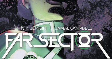 Far Sector #1 cover by Jamal Campbell