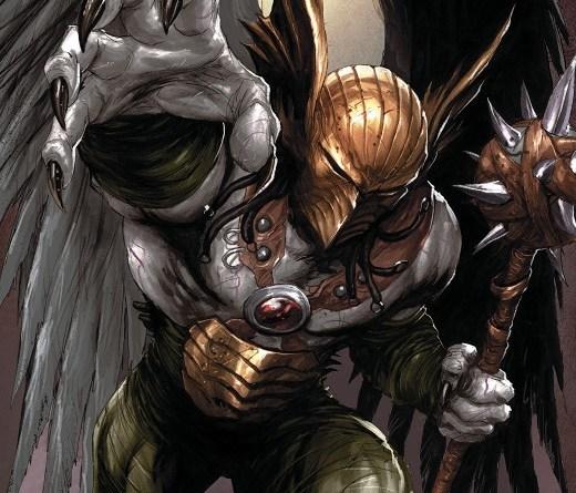 Hawkman #18 cover by Tyler Kirkham