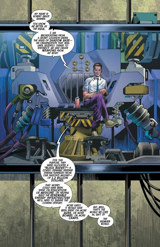 Immortal Hulk #26 art by Joe Bennett, Ruy Jose, Paul Mounts, and letterer VC's Cory Petit