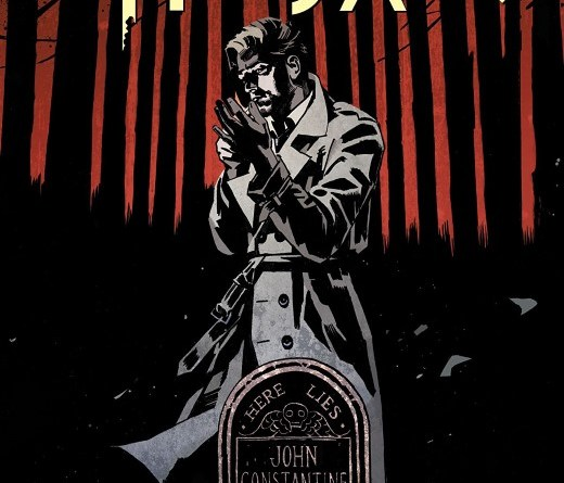 John Constantine: Hellblazer #1 cover by John Paul Leon