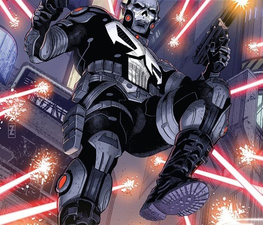 Punisher 2099 #1 cover by Patch Zircher and Java Tartaglia