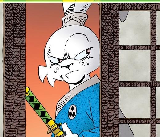 Usagi Yojimbo #6 cover by Stan Sakai