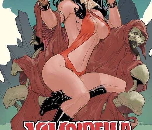 Vampirella #5 cover by Terry Dodson
