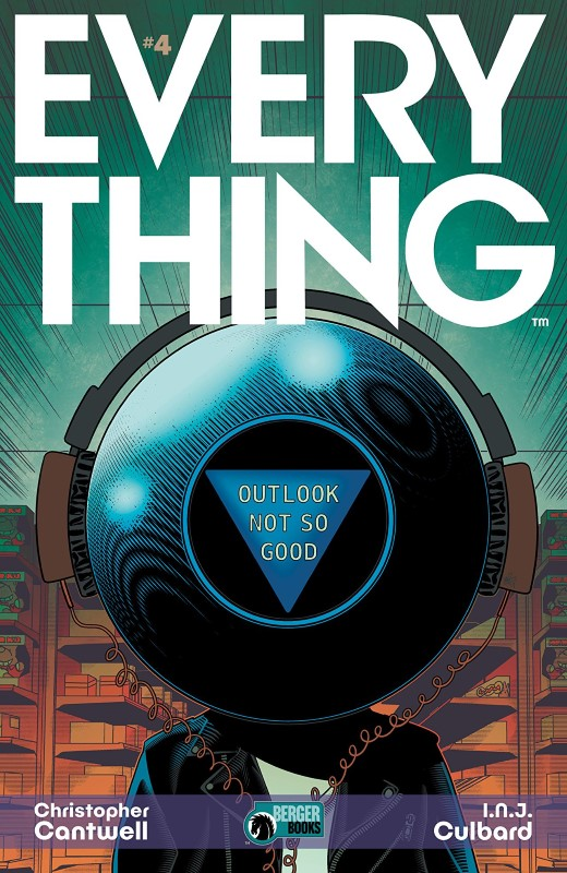Everything #4 cover by I.N.J. Culbard