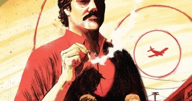 Narcos #1 cover by Vic Malhotra