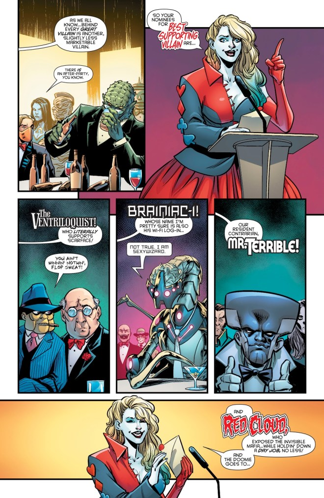 Awards And Archenemies: Review Harley Quinn Villain Of The