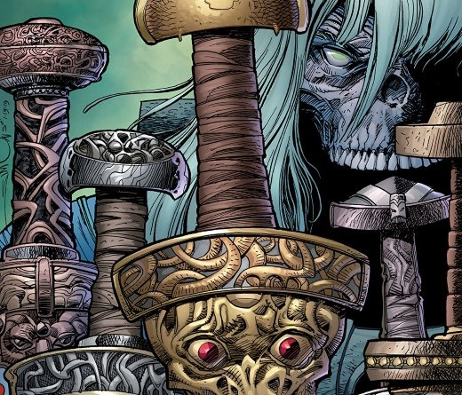 Ragnarok: The Breaking of Helheim #3 cover by Walter Simonson and Laura Martin