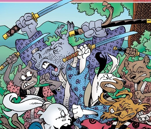 Usagi Yojimbo #7 cover by Stan Sakai