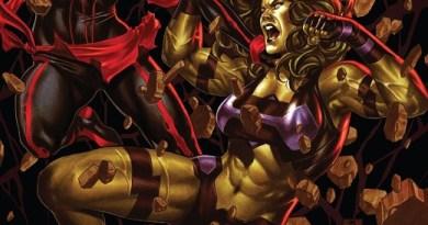 Captain Marvel #14 cover by Mark Brooks