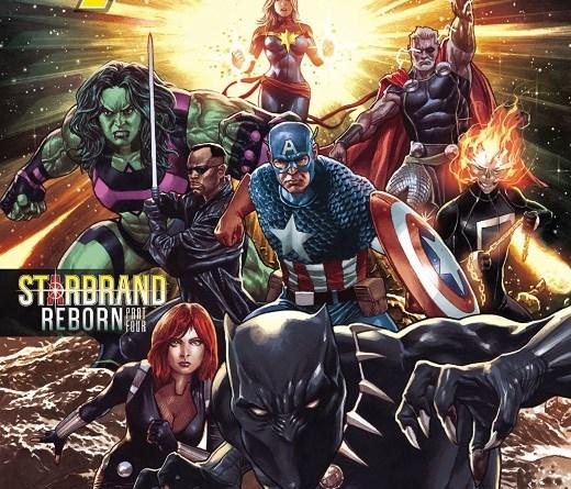 Avengers #30 cover by Mico Suayan and Rain Beredo