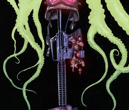 Godkillers #1 cover by Tim Bradstreet