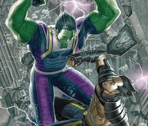 Atlantis Attacks #3 cover by Rock-He Kim