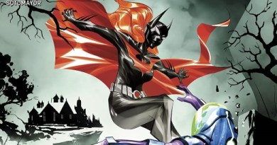 Batman Beyond #42 cover by Dustin Nguyen